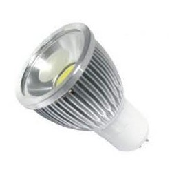 Bombilla LED COB 9W GU10 regulable / dimmable