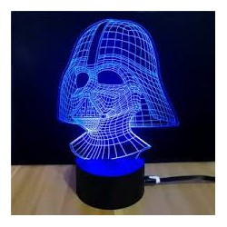 DARTH VADER Stars War Desktop Lamp