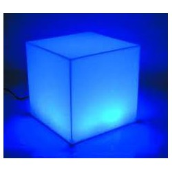 Silla Cubo Multicolor LED